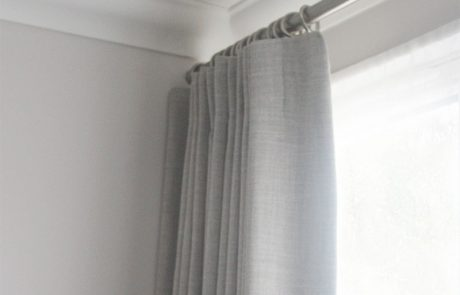 Grey Linen Curtains, Taylor and Paix Interiors