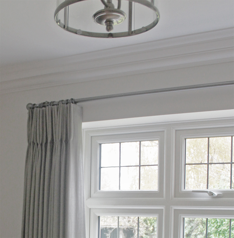 Ian Mankin Curtains, Taylor and Paix Interiors