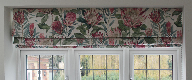 Sanderson King Protea, Taylor and Paix Interiors
