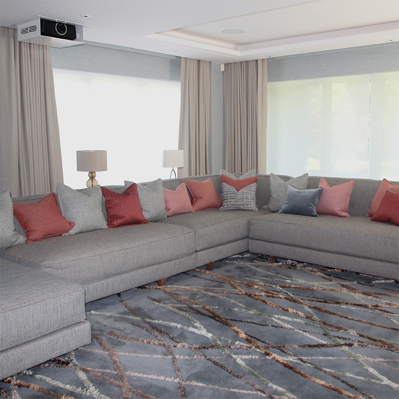 Motorised Curtains, Taylor and Paix Interiors