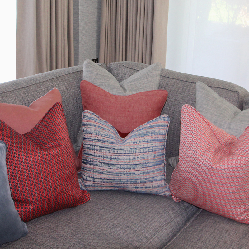 Margo Selby Cushions, Taylor and Paix Interiors