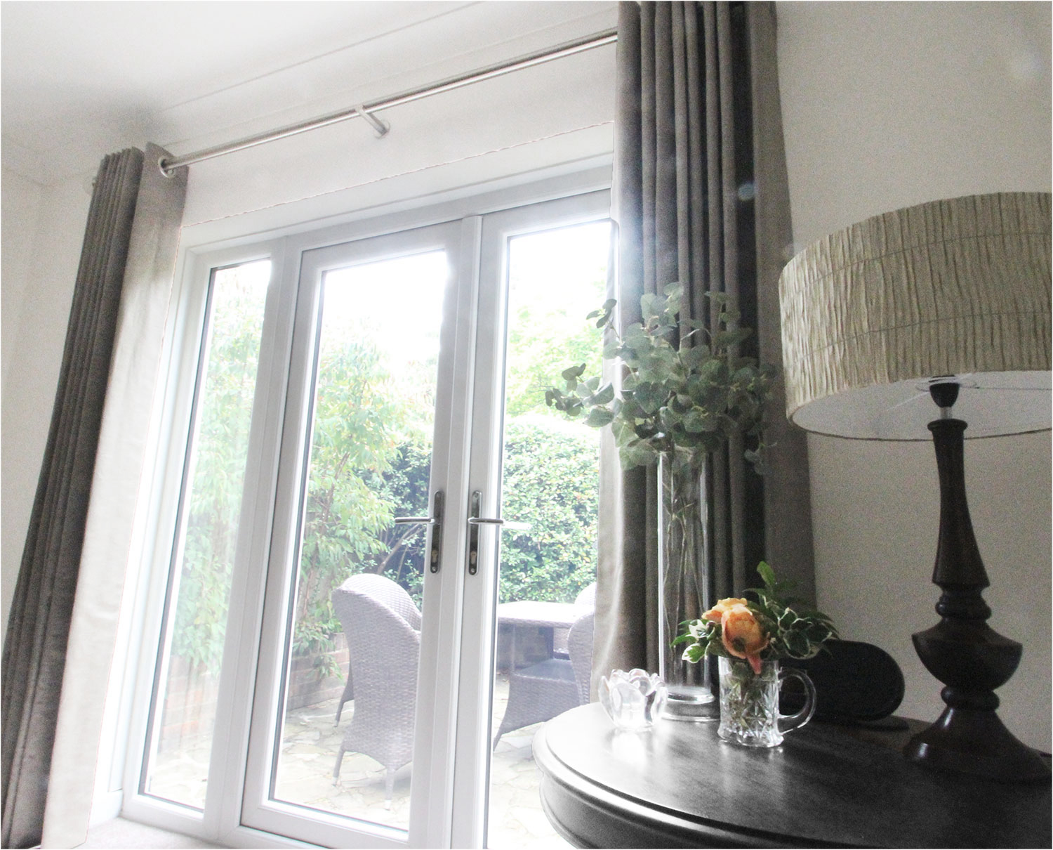 Eyelet Curtains, Taylor and Paix Interiors