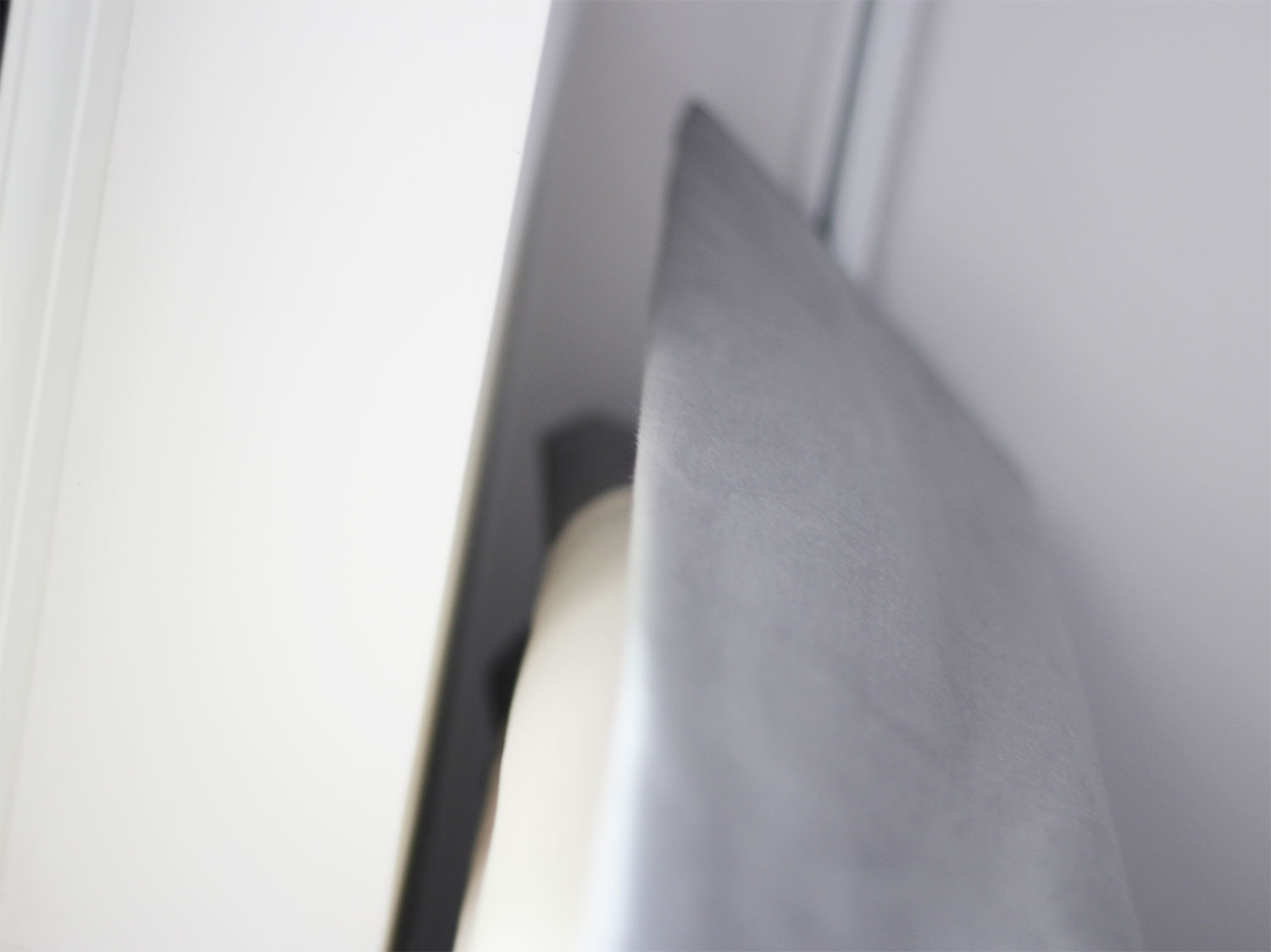 Grey Wave Curtain, Taylor and Paix Interiors